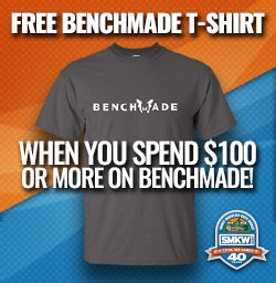 Free Benchmade Tshirt with Purchase