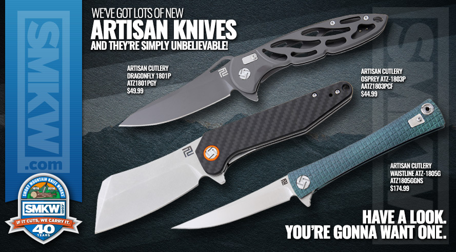 Artisan Cutlery on SMKW!