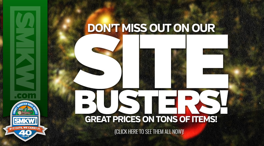 Save Big with Our Site Busters! While Supplies Last. For a Limited Time.