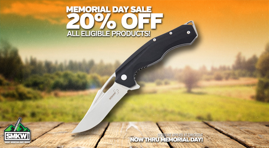 Memorial Day 20% Off Sale!