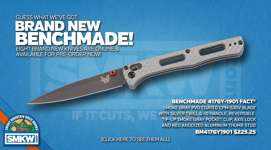 New Benchmades for 2019