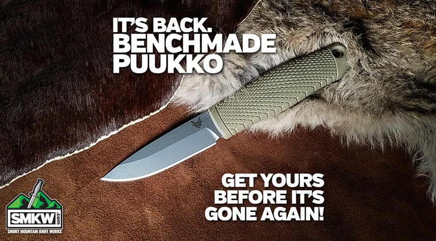 The Benchmade Puukko is Back - Get Yours Before They Sell Out Again!