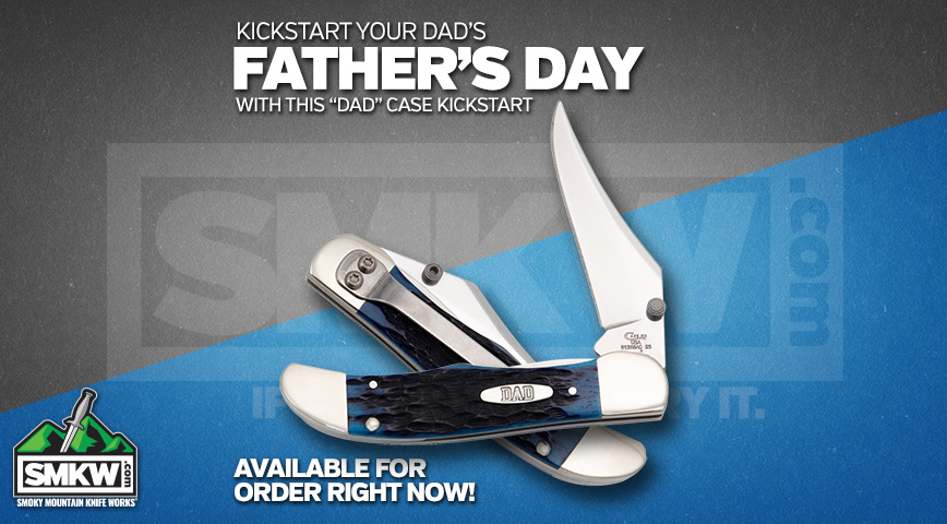 Kickstart Father's Day with this DAD Case Kickstart Mid-Folding Hunter!