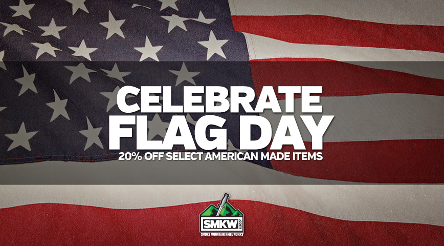 Celebrate Flag Day - 20% Off Select American Made Items! Web only.