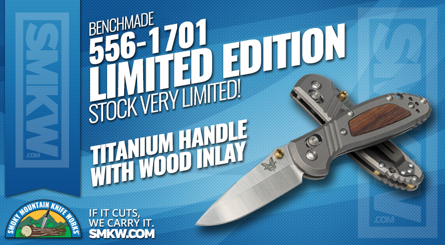 Benchmade 556-1701 Limited Edition
