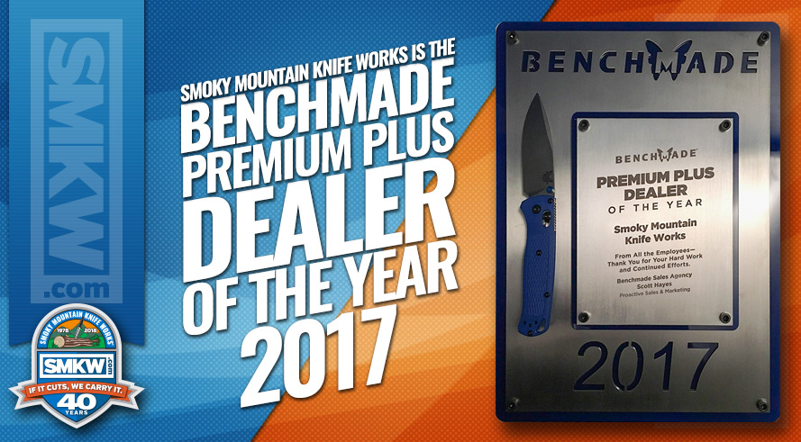 SMKW wins Benchmade Dealer of the Year