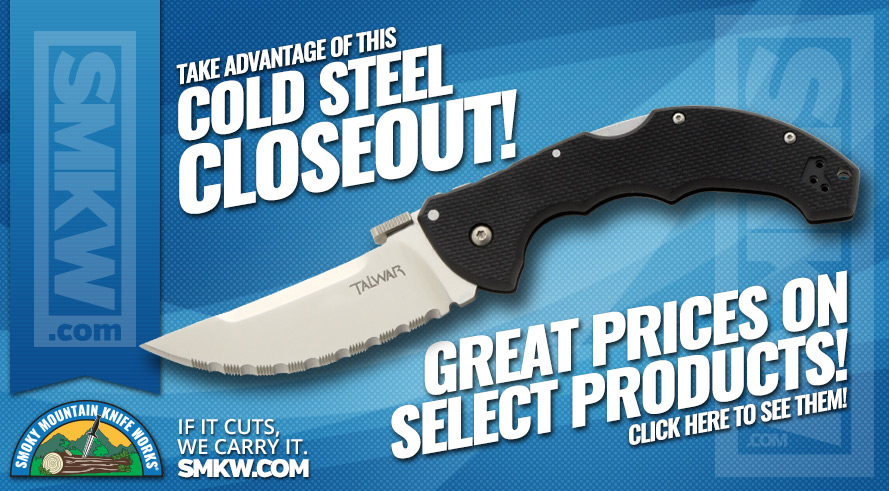 Don\t Miss Our Cold Steel Blowout Sale!
