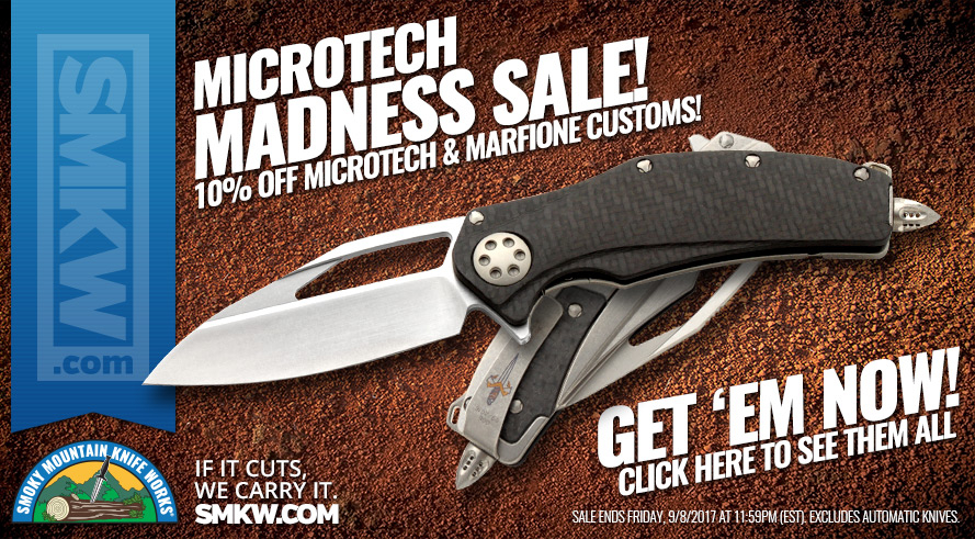 Microtech Madness Sale!