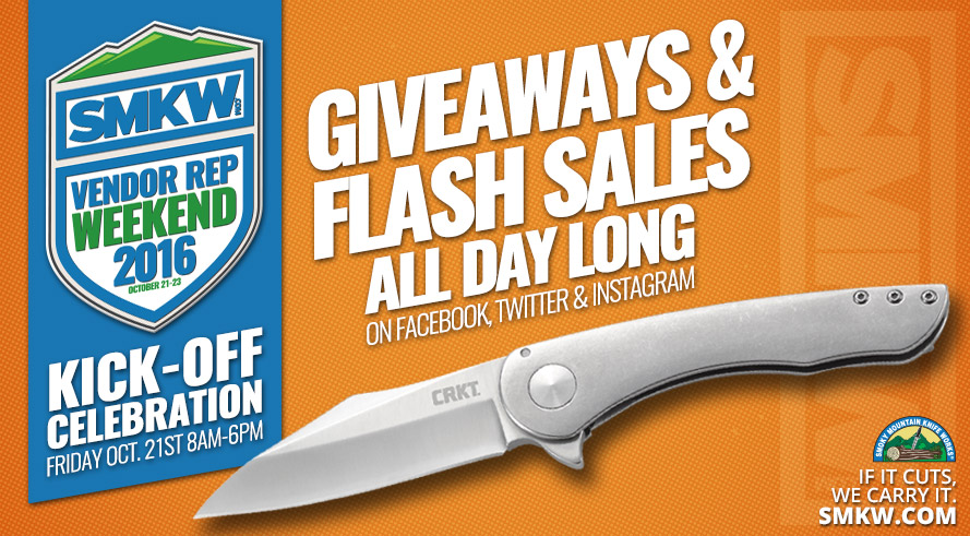 SMKW Vendor Rep Weekend Kick Celerbration Online Friday Oct 21st - Giveaways and Sales All Day Long!