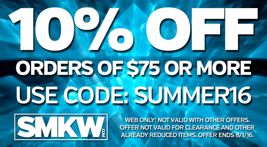 10% off orders of $75 or more! web only. Excludes specials, clearance items, and gift cards. Does not combine with any other offers. Ends 8/1/16.