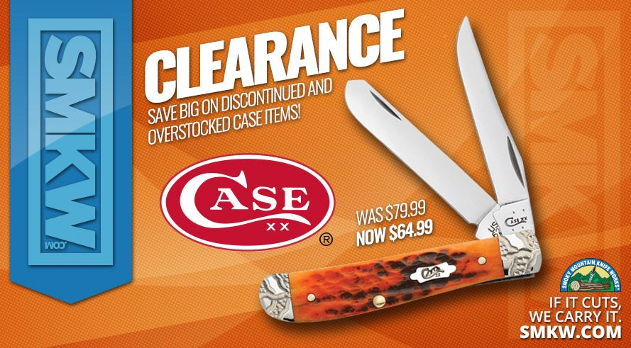 Case Clearance Sale - Save Big On Select Case Knives!