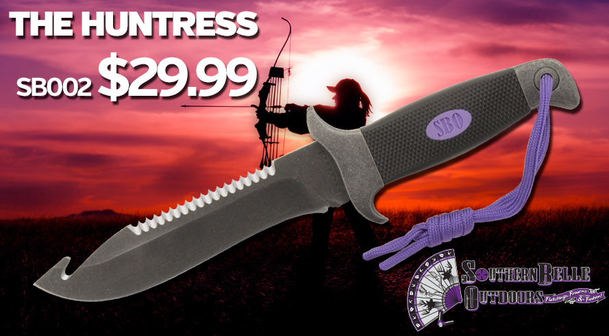Southern Belle Outdoors The Huntress - Designed by Women Hunters for Women Hunters - SB002 $29.99