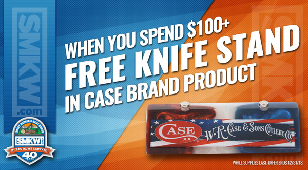 Free Case Magnetic Knife Stand with $100 Case Purchase! Limit 1 Per Order While Supplies Last. Offer Ends 12/31/18