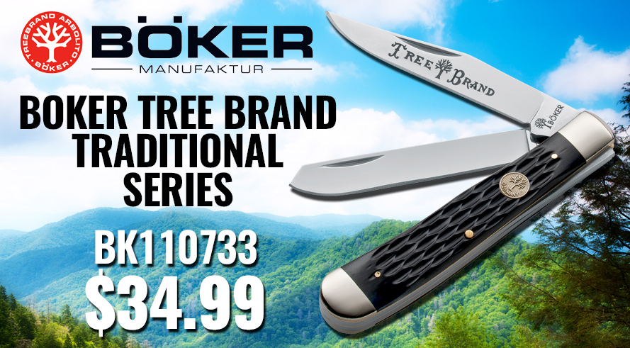 Boker Tree Brand Traditional Series - BK110733 $34.99!