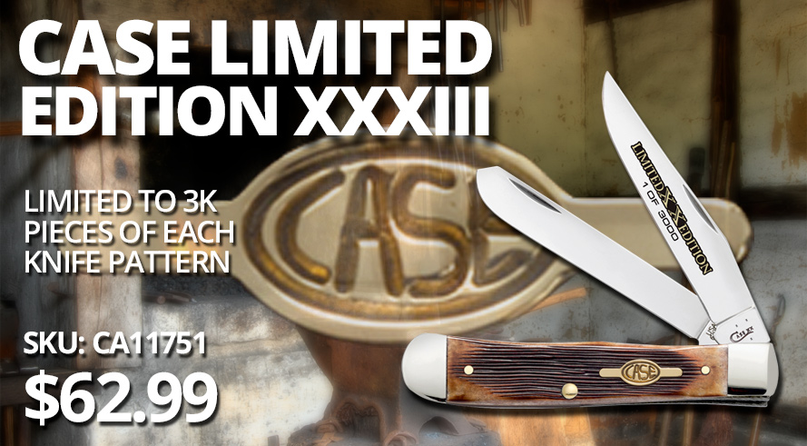 New! Case XX Limited Edition XXXIII Pocketknives - CA11751 $62.99!